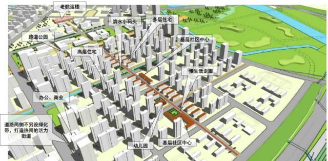 南京主城新中心!南部新城这样建:窄马路,密路网,小街区