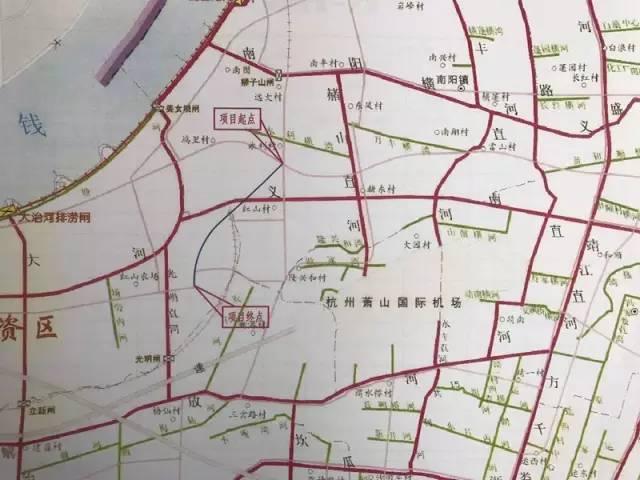 萧山江东大桥南接线项目获批!连接着大江东,南阳,红山