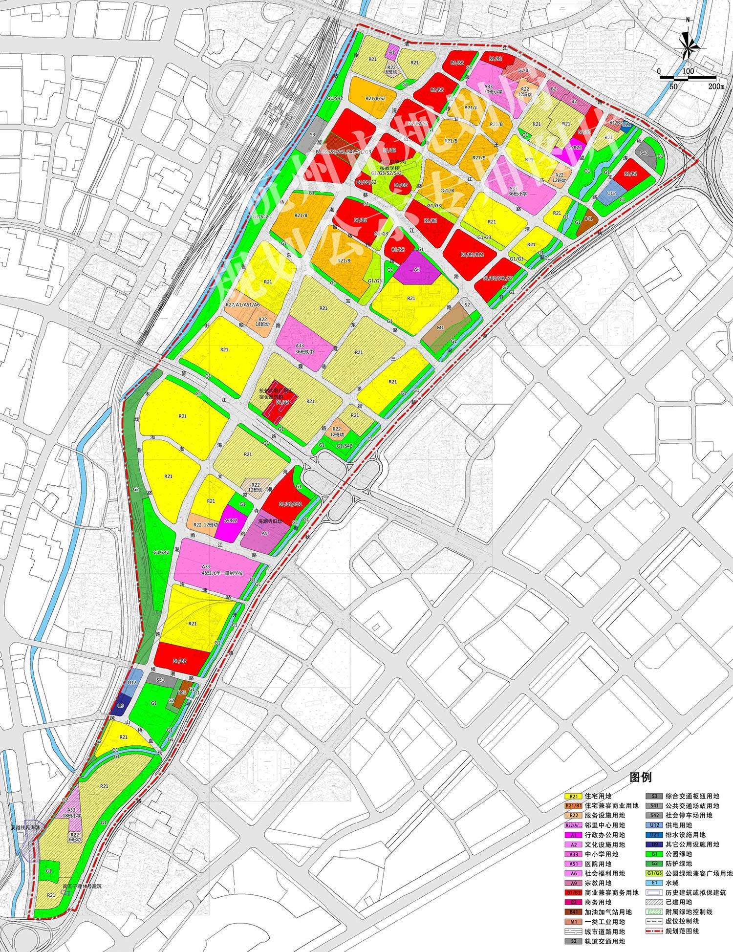 望江单元发展定位为望江金融科技城,是钱塘江金融港湾的核心产业板块